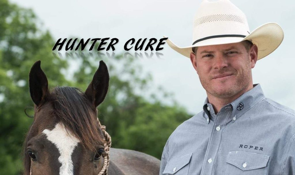 Hunter Cure cowboy world champion rodeo steer wrestling husband father