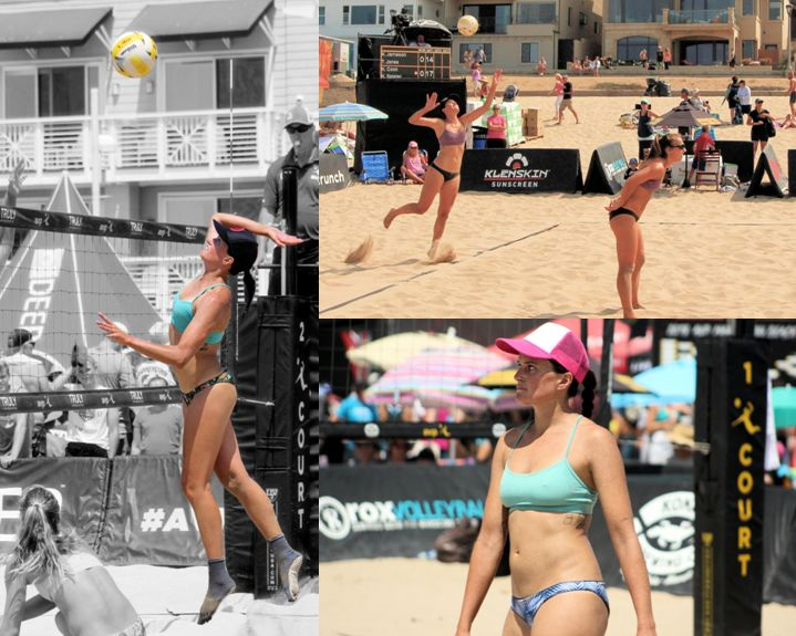 Karissa Cook Beach Volleyball AVP Manhattan Beach California Stanford