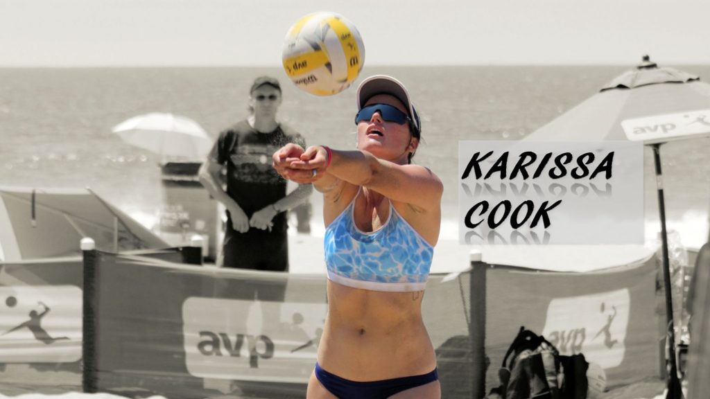 Karissa Cook beach volleyball stanford avp tour hawaii