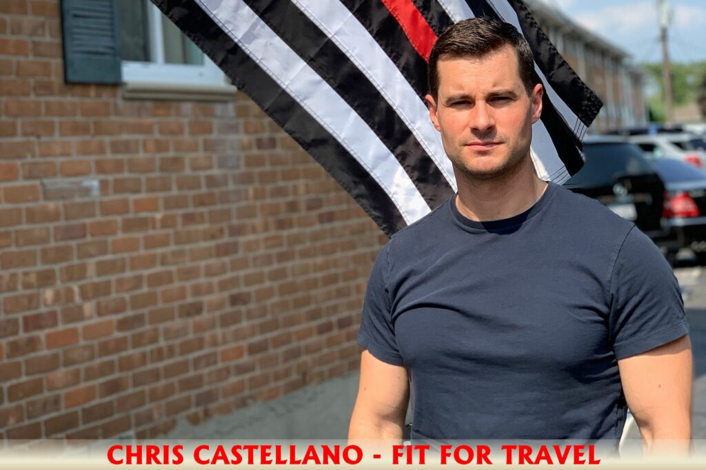 Chris Castellano Fit For Travel