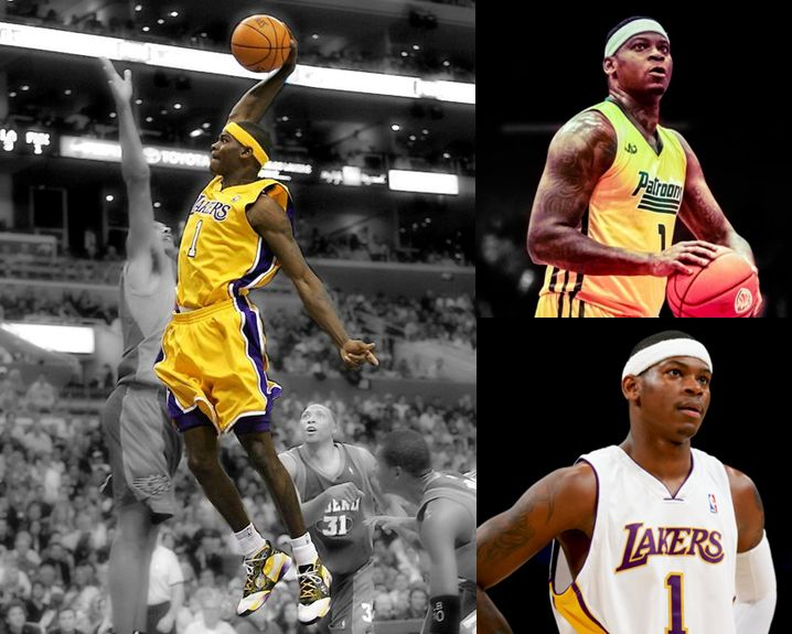 Smush Parker NBA Los Angeles Lakers Clippers Cavaliers Basketball