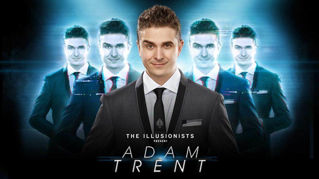 Adam Trent magic magician the road trick illusionist 1