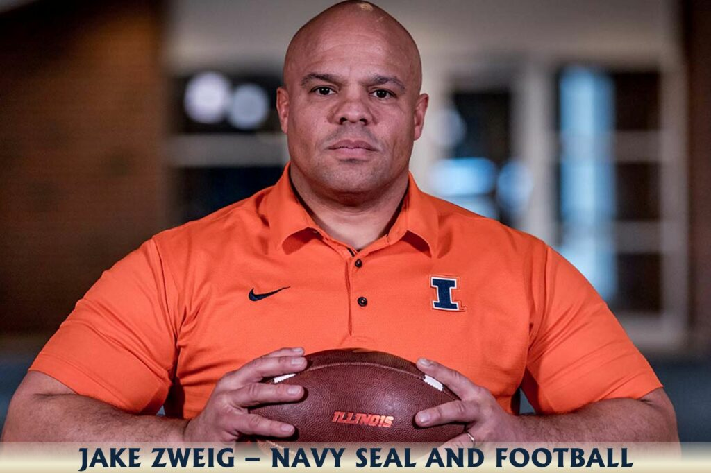 Jake Zweig Navy SEAL and Football