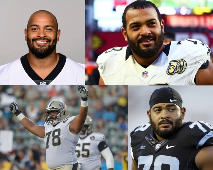 Landon Turner NFL Saints Panthers Seahwaks lineman carolina