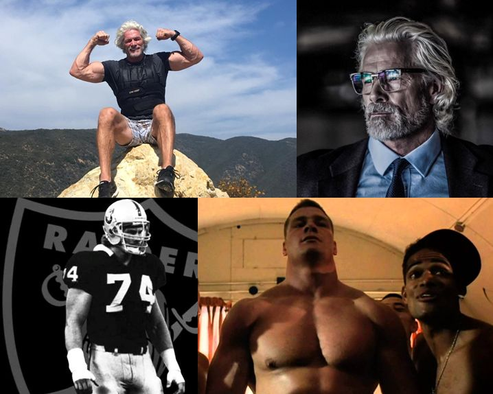 Pete Koch oakland los angeles raiders nfl actor heartbreak fitness workout