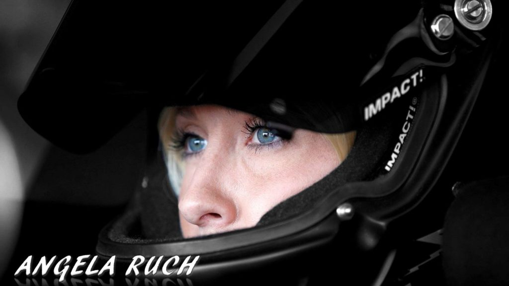 Angela Ruch nascar truck series adoption twin sister maxim