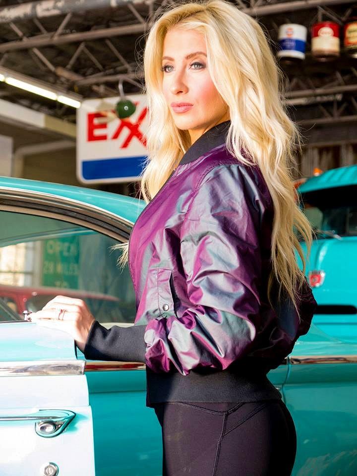Angela Ruch nascar driver model mom adoption twin sister maxim 3