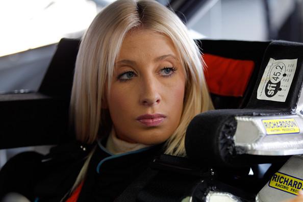 Angela Ruch nascar driver model mom adoption twin sister maxim 5
