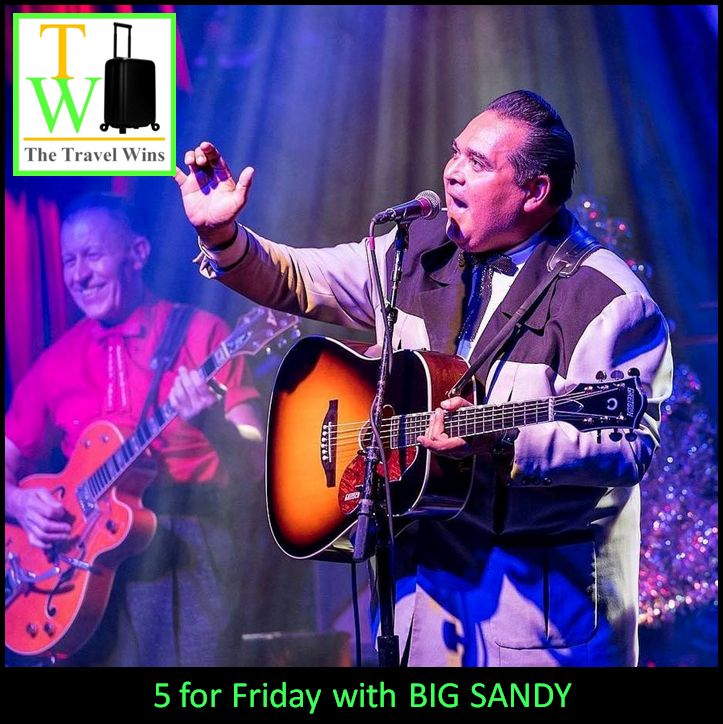 5 for Friday with Big Sandy rockabilly western swing music musician hall of fame fly rite boys