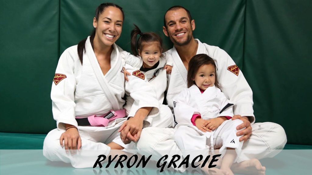 Ryron Gracie jiu jitsu ufc gentle art family
