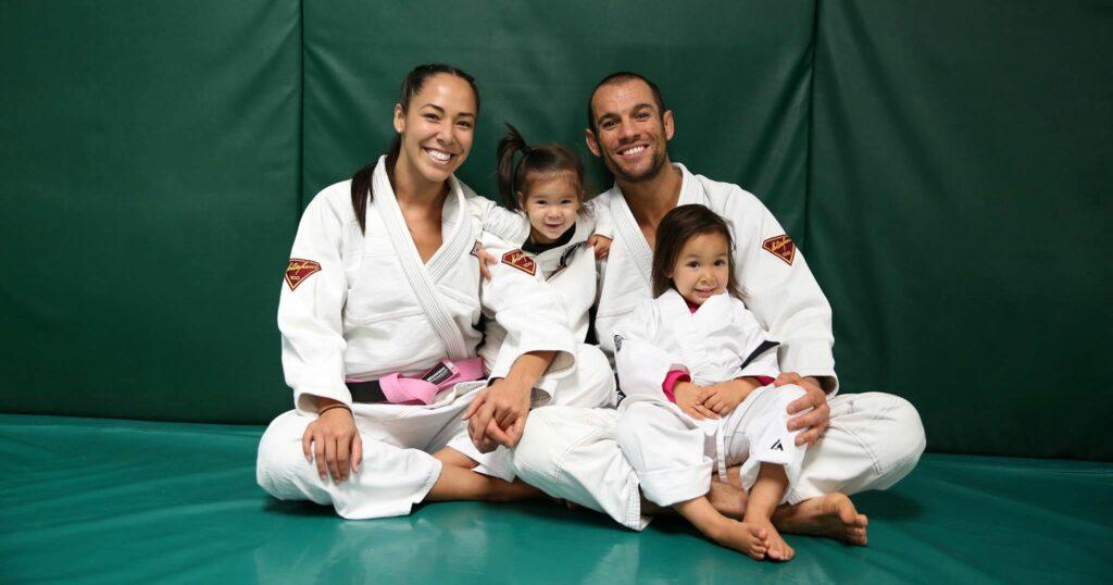 Ryron Gracie family