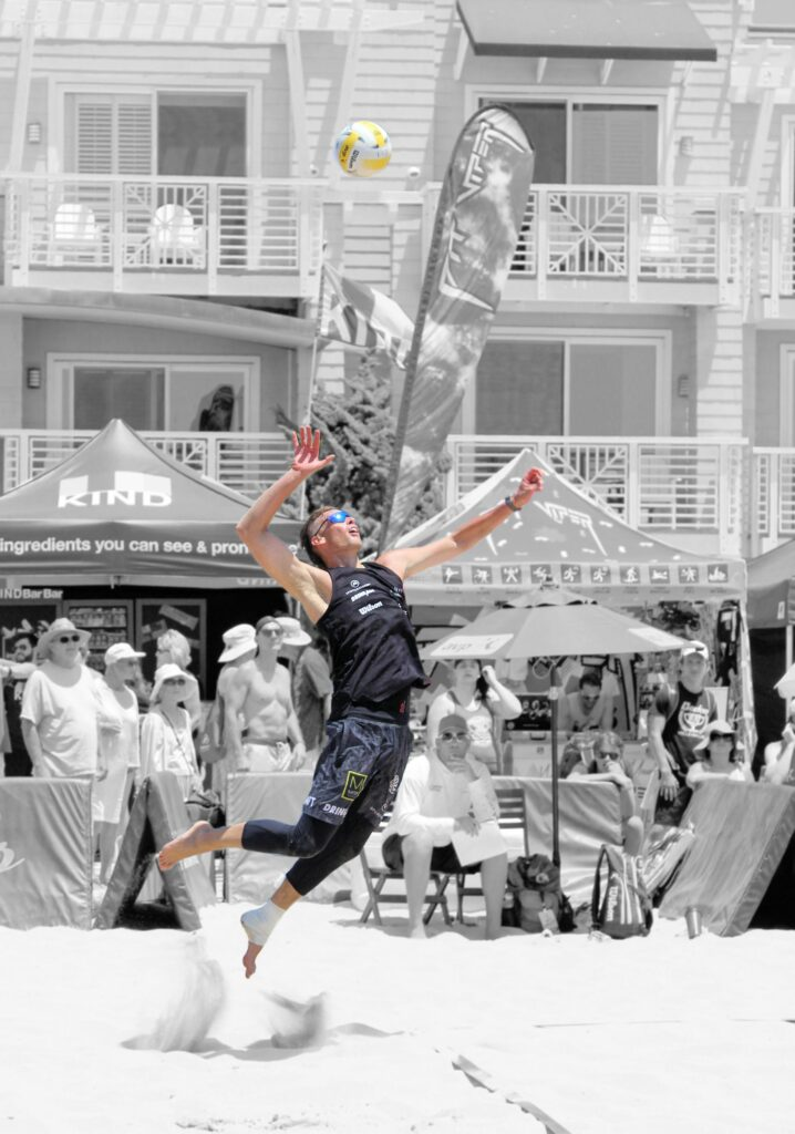 Casey Patterson 2019 Hermosa Beach Open AVP beach volleyball