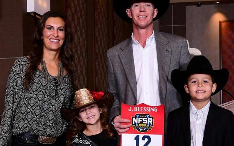Jessica Blessing family rodeo cali cain jarrett texas cheyenne dallas sales