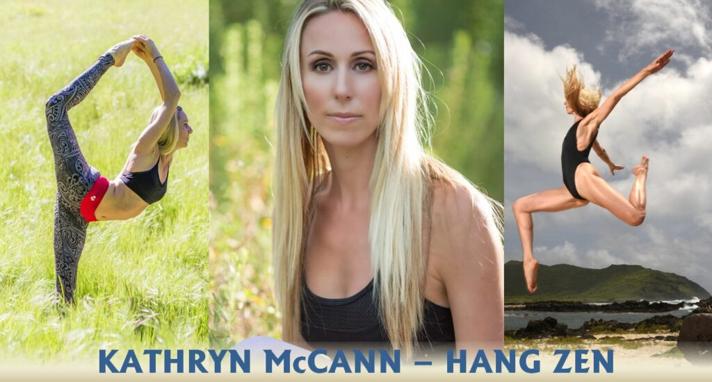 Kathryn McCann hang zen corporate yoga yogi san diego hawaii texas