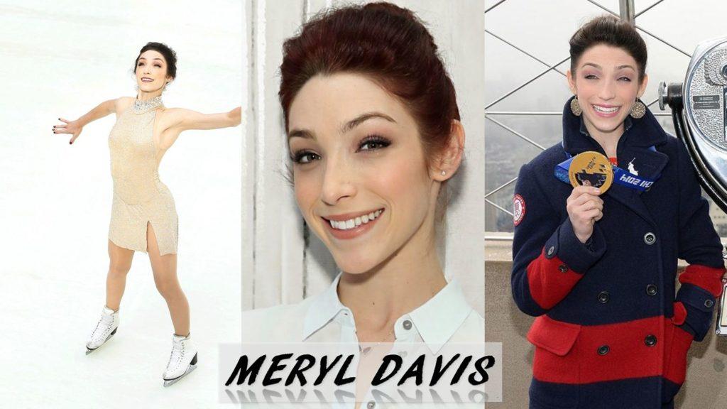 Meryl Davis olympian dwts goldmedal mirrored ball
