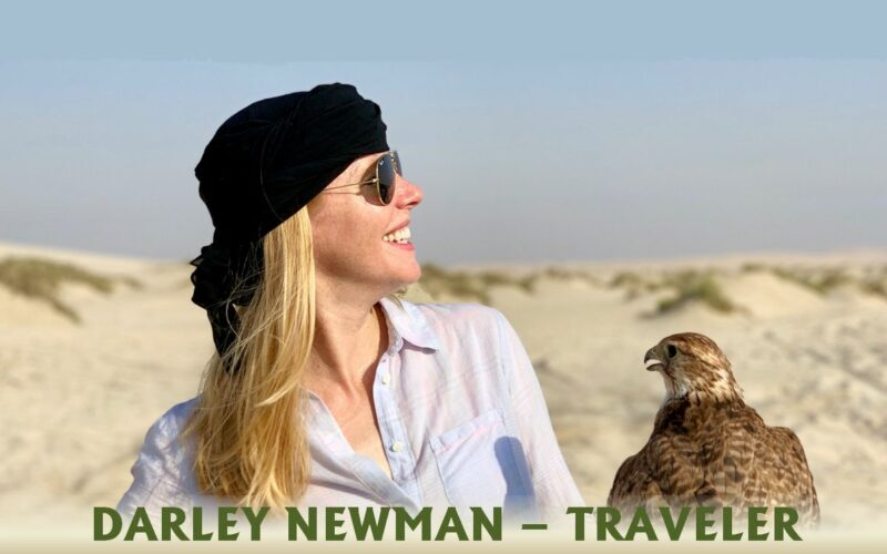 Darley Newman Traveler travel pbs kcet travels with darley