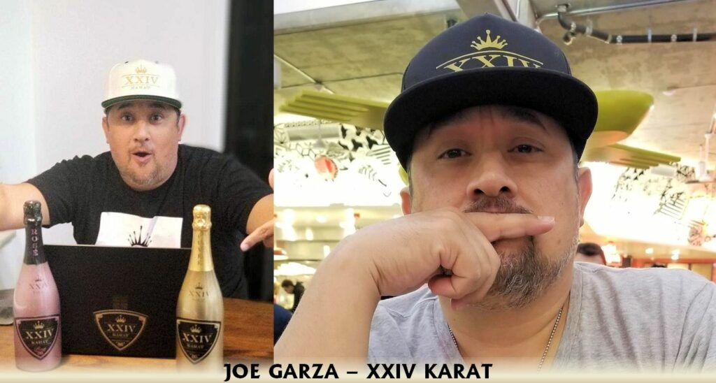 Joe Garza XXIV Karat west coast beverage