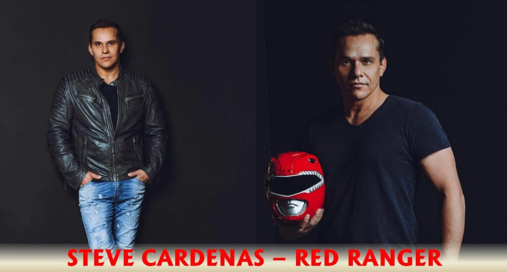 Steve Cardenas Red Ranger Power Rangers jiu jitsu black belt comic con