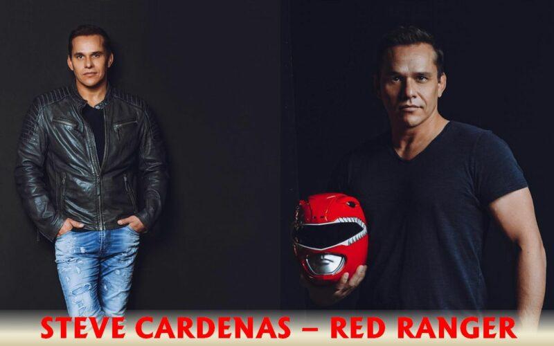 Steve Cardenas Red Ranger Power Rangers jiu jitsu black belt comic con
