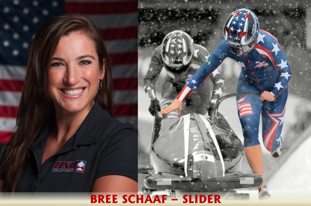 Bree Schaaf podcast bobsled slider sliding nbc