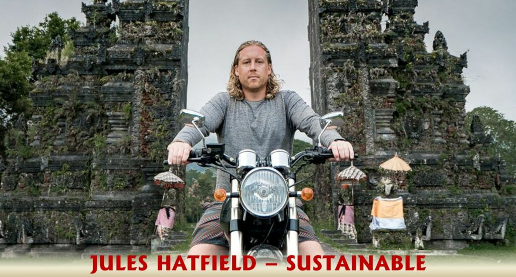Jules Hatfield sustainable travel blogger