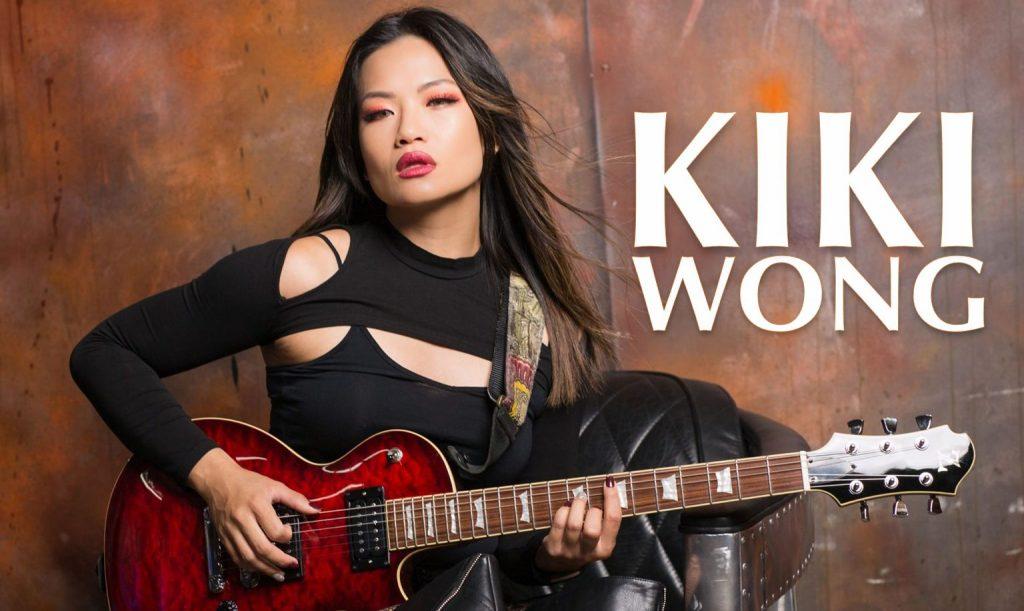Kiki Wong guitar rocker muay thai model wongo