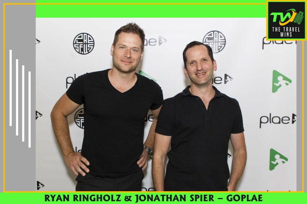 Ryan ringholz and Jonathan spier plae shoes goplae