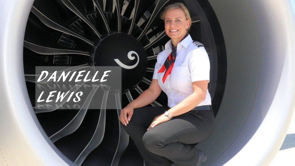 Danielle Lewis pilot air force combat southwest