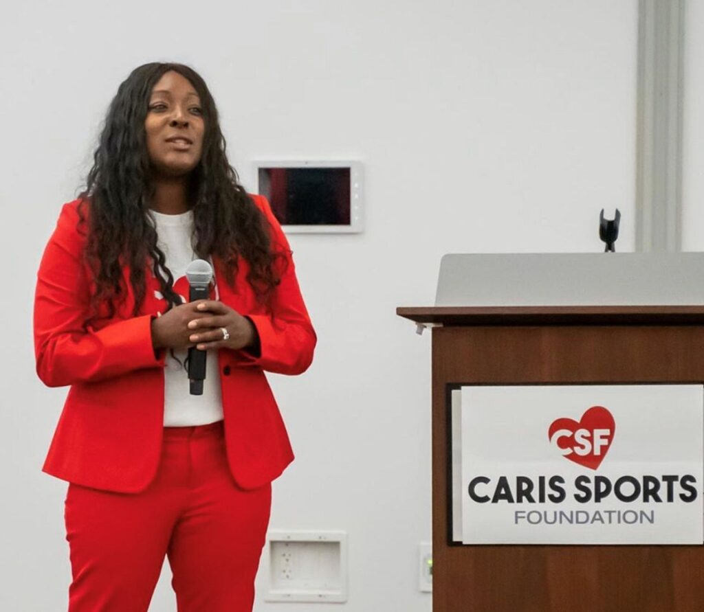 Raquel McNabb caris sports foundation donovan