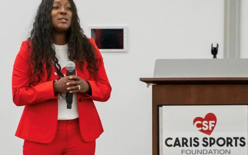 Raquel McNabb caris sports foundation donovan