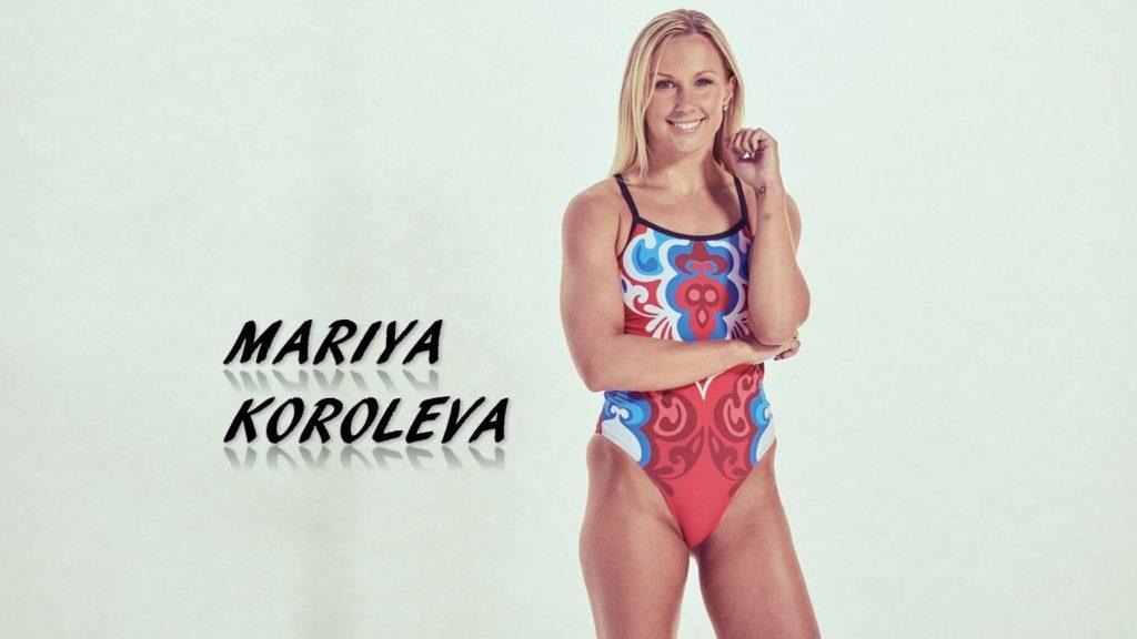 Mariya Koroleva stanford synch swim synchronized 2x olympian