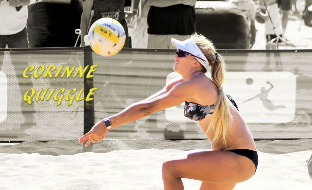 Corinne Quiggle avp beach volleyball pepperdine college
