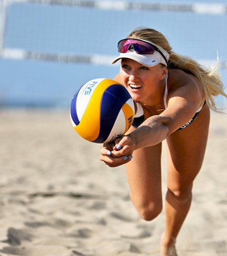 Corrine Quiggle avp beach volleyball