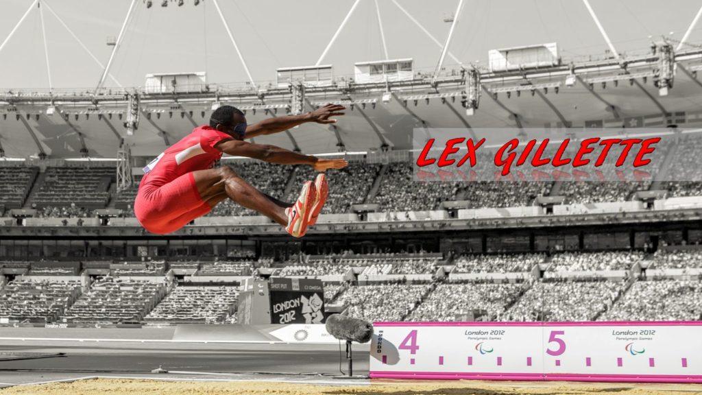 Lex Gillette long jump paralympics world champion blind san diego