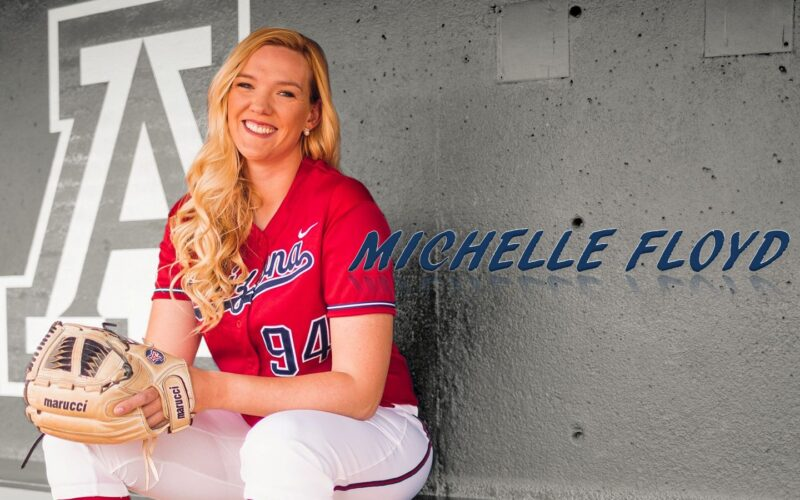 Michelle Floyd softball arizona ncaa italy wildcat