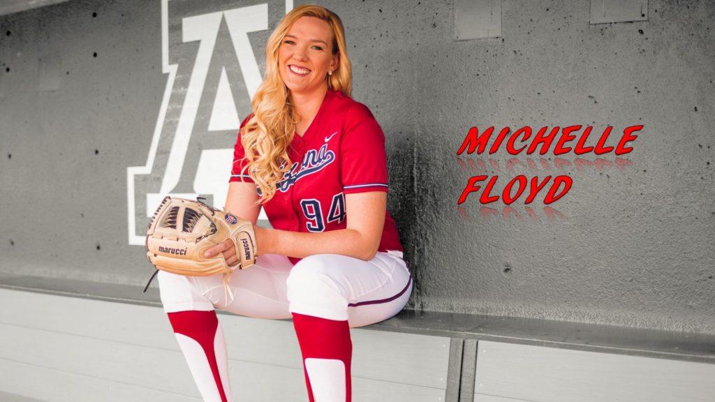 Michelle Floyd softball arizona wildcat pitcher venezuela braves