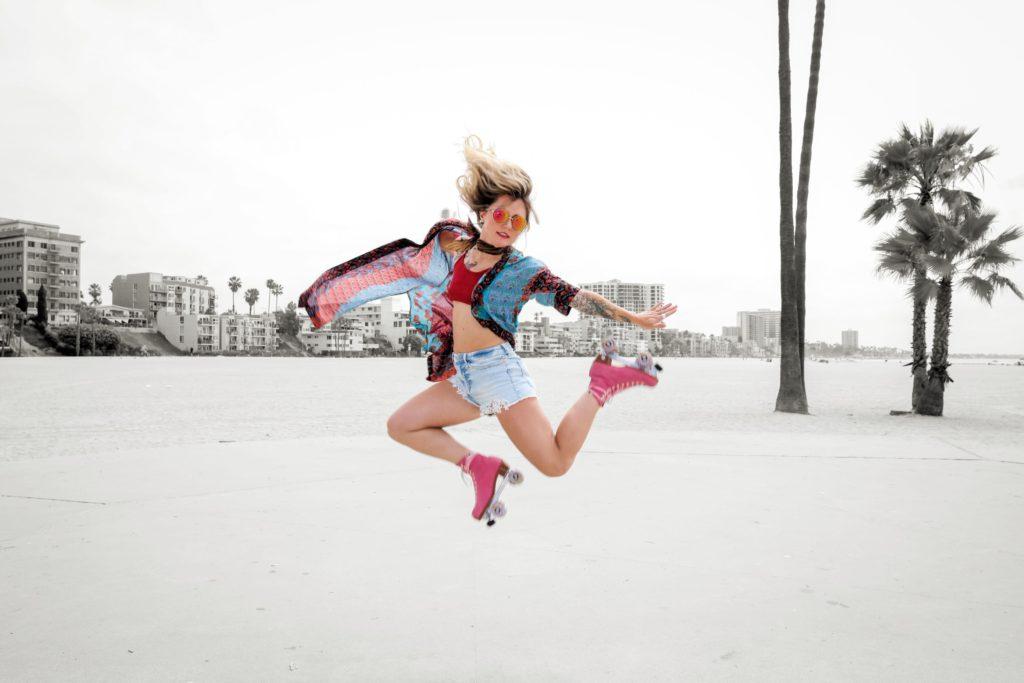 Morgan Weske dance skate roller skating