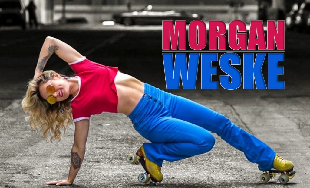 Morgan Weske roller skater dancer skate dance choreographer