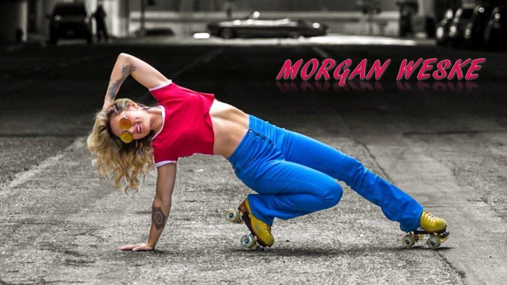 Morgan Weske roller skater dancer choreographer dance skate