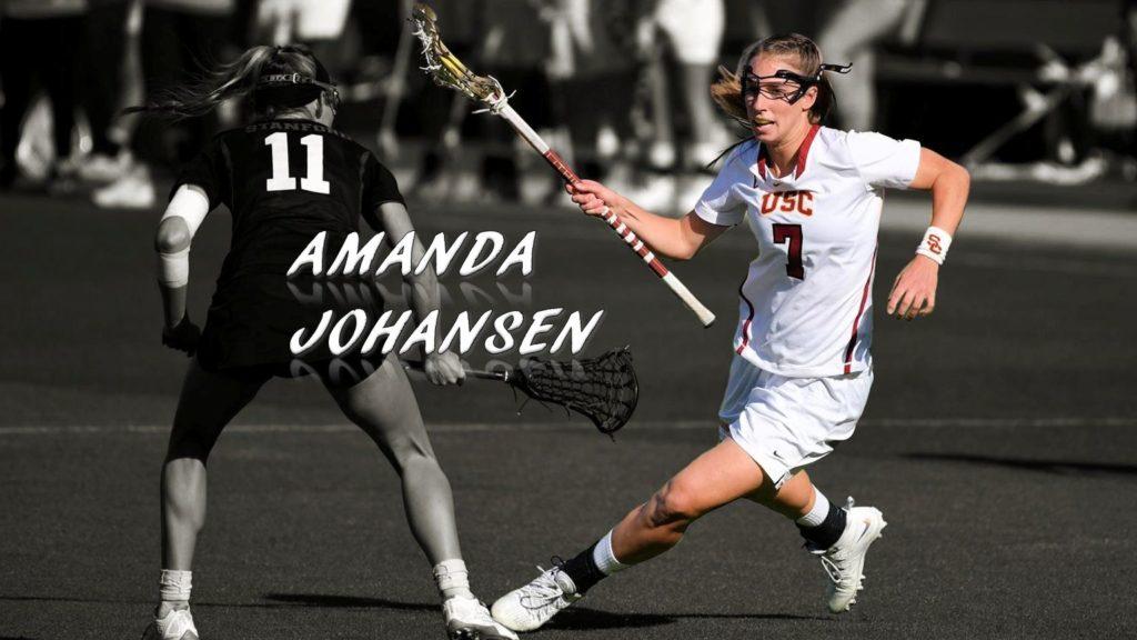 Amanda Johansen lacrosse usc coach all star professional hofstra