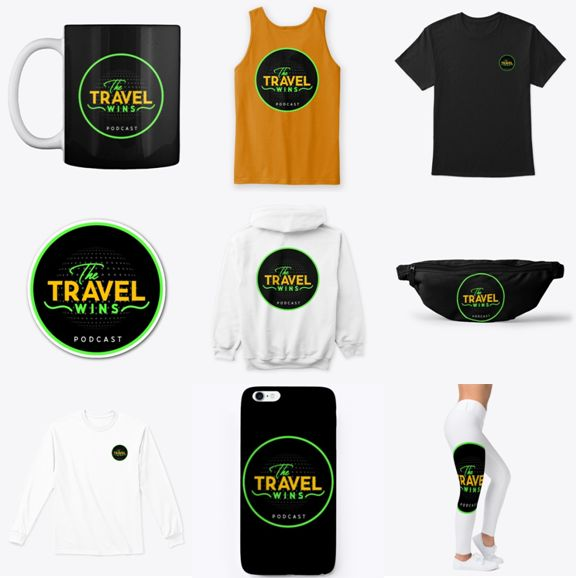 The Travel Wins Teespring Pictures