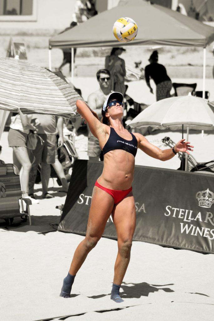 Traci Callahan AVP beach volleyball 1