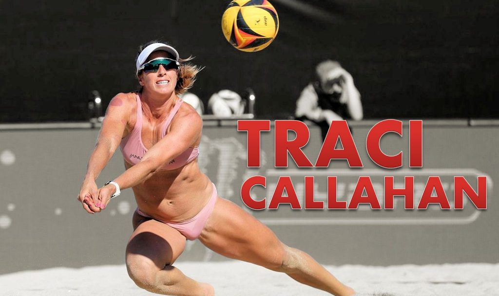 Traci Callahan volleyball beach athlete second chances