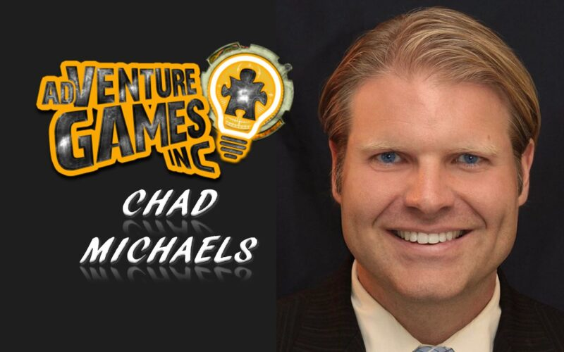 Chad Michaels adventure games entrepreneur team building pivoting