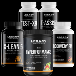 Legacy Ultimate Stack www.legacysupps.com