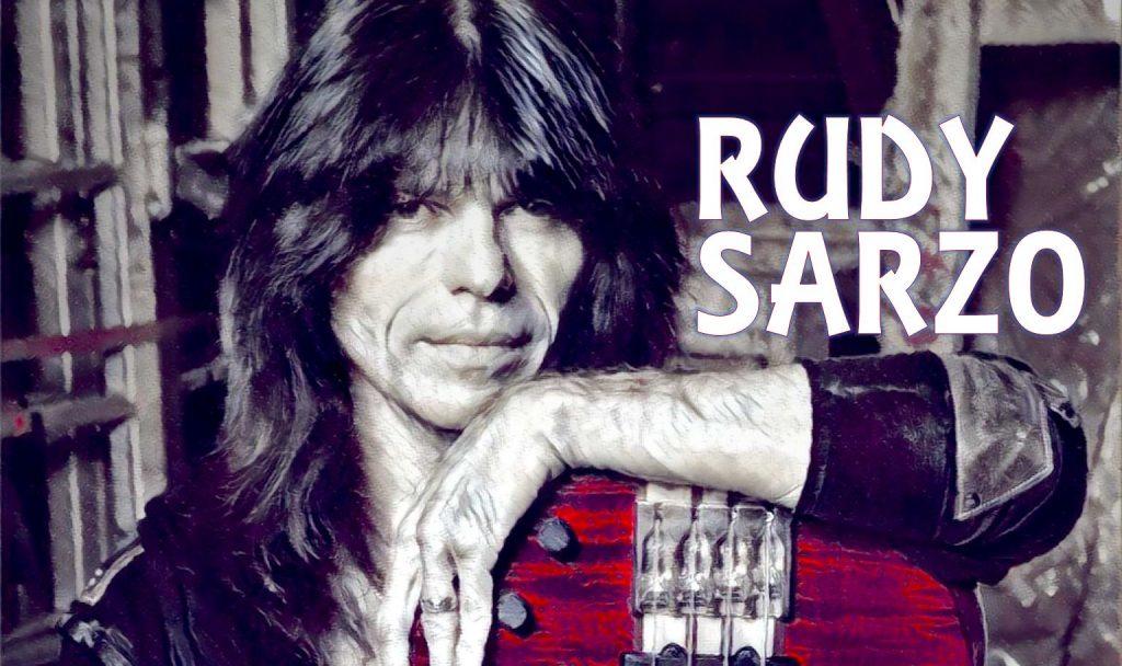 Rudy Sarzo bass player quiet riot ozzy osbourne whitesnake