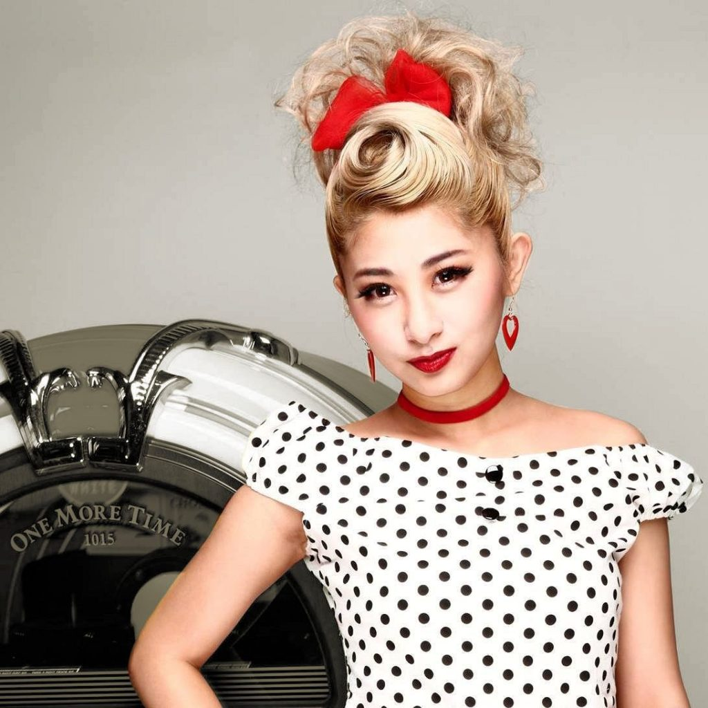 Misaki Aona rockabilly singer japan fashion 1