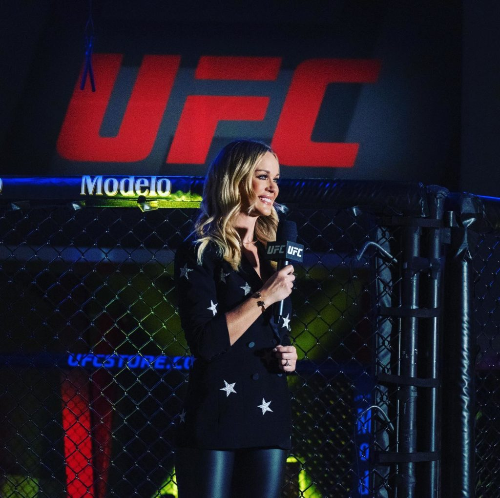 Laura Sanko UFC reporter