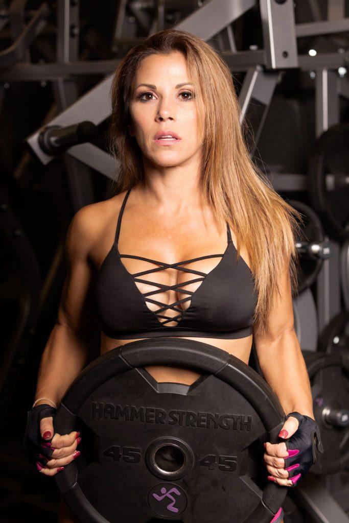 Mickie James Fitness Magazine