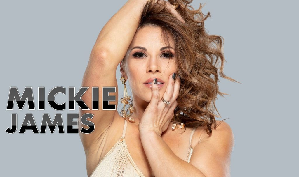 Mickie James wrestling champ singer mom and wife